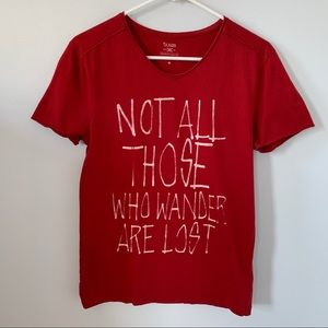 "Tops - 🔥 ""Not All Those Who Wander Are Lost"" Tee"